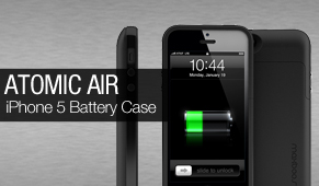 maxboost defender air iphone 5 battery case